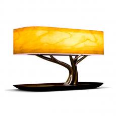 Умный светильник HomeTree Light Of the Tree с функцией беспроводной зарядки, коричневый, фото 1