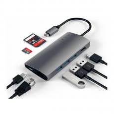 "Хаб Satechi Multi-Port V2, с USB-C, ""серый космос"", фото 3"