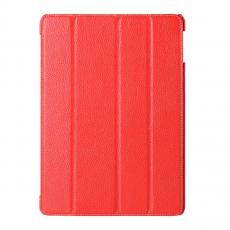 Чехол кожаный Melkco Slimme Ver.1 для iPad Air, красный, фото 1