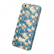 Чехол-накладка Cath Kidston для iPhone 6/6S, поликарбонат, синий / розовый, фото 1