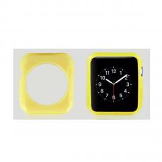 Чехол силиконовый для Apple Watch 42mm, желтый, фото 1