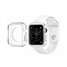 Чехол силиконовый для Apple Watch 42 mm, прозрачный, фото 1