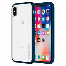 Чехол-накладка Incipio Octane Pure для iPhone X/Xs, полиуретан / поликарбонат, прозрачный / синий, фото 1