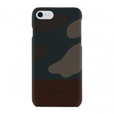 Чехол Jack Spade Snap Case для iPhone 7 и 8, коричневый камуфляж, фото 1