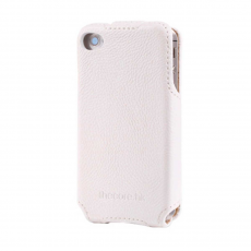 Чехол Momax The Core GMSD Case Litchi Series для iPhone 4/4S, белый, фото 1