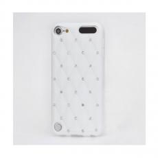 Чехол Rhinestone для iPod Touch 5gen, белый, фото 1
