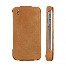 Чехол SGP Vintage nubuk для iPhone 4/4S, коричневый, фото 1