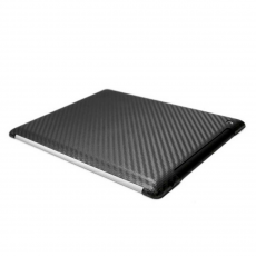 Чехол Truecarbon Carbon case for iPad 2,3 и 4, чёрный, фото 1