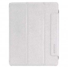 Чехол Tunewear LeatherLook для iPad 2 и 3, белый, фото 1
