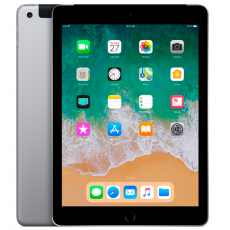 "Apple iPad 9.7"" 2018, 32Gb, Wi-Fi + Cellular, серый космос, фото 1"