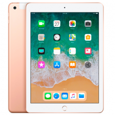 "Apple iPad 9.7"" 2018, 32Gb, Wi-Fi + Cellular, золотой, фото 1"