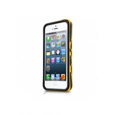 Бампер itSkins Venum для iPhone 5,5S и SE, чёрный и жёлтый, фото 1