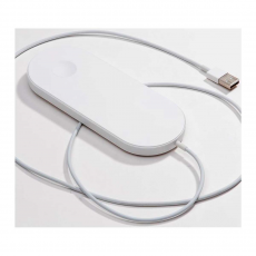 Беспроводное зарядное устройство COTEetCI 2 в 1 Fast Charging Wireless, белое, фото 2