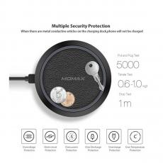 Беспроводное зарядное устройство Momax Q.Pad Wireless Charger, чёрный, фото 4