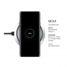 Беспроводное зарядное устройство Momax Q.Pad Wireless Charger, белое, фото 3