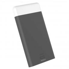 Внешний аккумулятор Power Bank Rock Light Stone, 2 USB-A, 8000 mAh, чёрный, фото 1