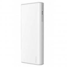 Внешний аккумулятор Power Bank Rock Cola, 2 USB-A, 10000 mAh, белый, фото 1
