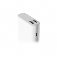 Внешний аккумулятор Power Bank Rock Cola, 2 USB-A, 10000 mAh, белый, фото 2