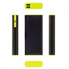 Внешний аккумулятор Power Bank Rock Cola, 2 USB-A, 10000mAh, чёрный, фото 3