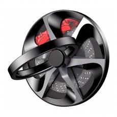 Держатель-кольцо Baseus wheel Ring Bracket, черный, фото 2