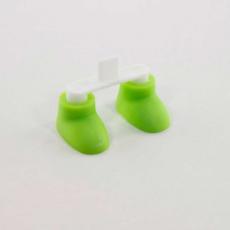 Заглушка Cute Shoes Style Detachable Stand Holder для iPhone 5/5S, зелёный, фото 2