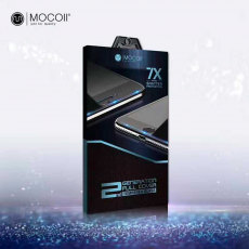 "Защитное стекло Mocoll ""Black Diamond"" 2.5D для iPhone 8/7 Plus, белый, фото 2"