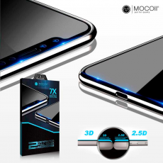 """Защитное стекло Mocoll """"Black Diamond"""" 2.5D 2Gen для iPhone 8/7, белый, фото 3"""