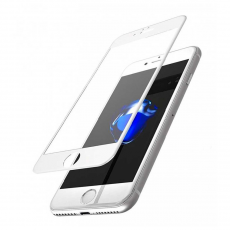 "Защитное стекло Mocoll ""Black Diamond"" 3D Soft Edge для iPhone 8/7 Plus, белый, фото 1"