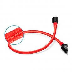 Кабель Anker PowerLine+, с USB-A на Lightning, 30 см, кевлар, 6000+ перегибов, красный, фото 3