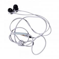 Наушники вакуумные Rock Y2 Stereo Earphone, серебристые, фото 2