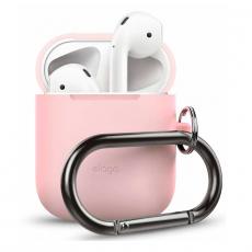 Силиконовый чехол Elago Hang для AirPods, розовый, фото 1
