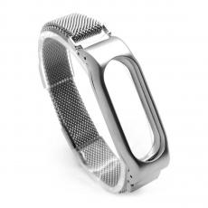 Сменный ремешок для Хiaomi Mi Band 2 металл, серебряный, фото 1