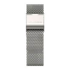 Сменный ремешок для Хiaomi Mi Band 2 металл, серебряный, фото 2