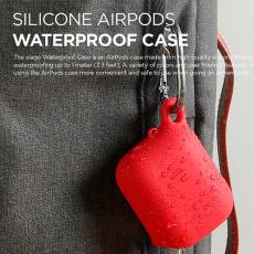 Чехол водонепроницаемый Elago для AirPods, красный, фото 4