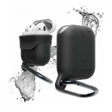 Чехол водонепроницаемый Elago для AirPods, черный, фото 1