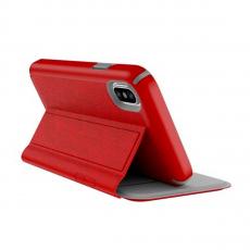 Чехол-книжка Speck Presidio Folio для iPhone X, красный, фото 3