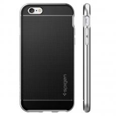 Чехол-накладка SGP NEO Hybrid для iPhone 6/6S Plus, серебряный, фото 4