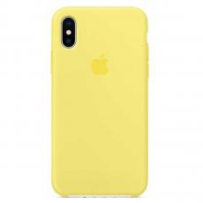 Чехол силиконовый Apple для iPhone X, холодный лимонад, фото 1