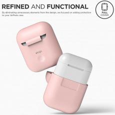 Чехол силиконовый Elago для AirPods, розовый, фото 3