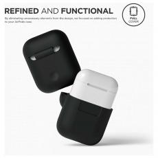 Чехол силиконовый Elago для AirPods, черный, фото 3