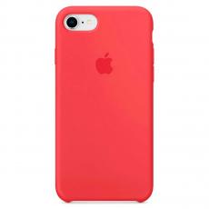 """Чехол силиконовый Apple для iPhone 7, """"спелая малина"""", фото 1"""