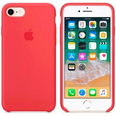 """Чехол силиконовый Apple для iPhone 7, """"спелая малина"""", фото 3"""