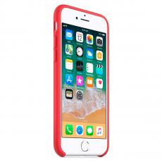 """Чехол силиконовый Apple для iPhone 7, """"спелая малина"""", фото 4"""