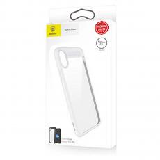 Чехол Baseus Suthin для iPhone X, белый, фото 2