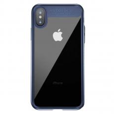 Чехол Baseus Suthin для iPhone X, синий, фото 1