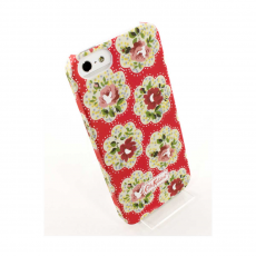 Чехол Cath Kidston leather case для iPhone 5/5s/SE, красный, фото 1