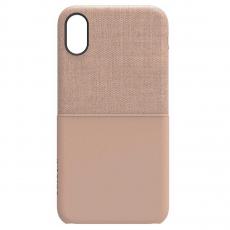 Чехол Incase Textured Snap Case для iPhone X, розовое золото, фото 1