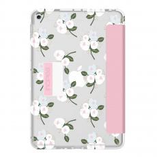 Чехол Incipio Design Series Folio для iPad (2017), Cool Blossom, серый/розовый, фото 1