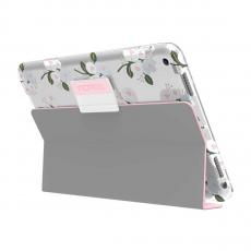 Чехол Incipio Design Series Folio для iPad (2017), Cool Blossom, серый/розовый, фото 3