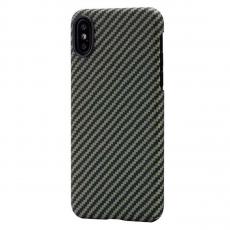 Чехол Pitaka MagCase для Apple iPhone X, черный/желтый, фото 1